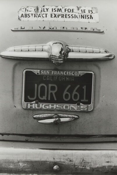 Dennis Hopper, 'The Only Ism for Me is Abstract Expressionism', 1962
