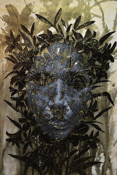 Uttaporn Nimmalaikaew, 'Black flowers No.1', 2019