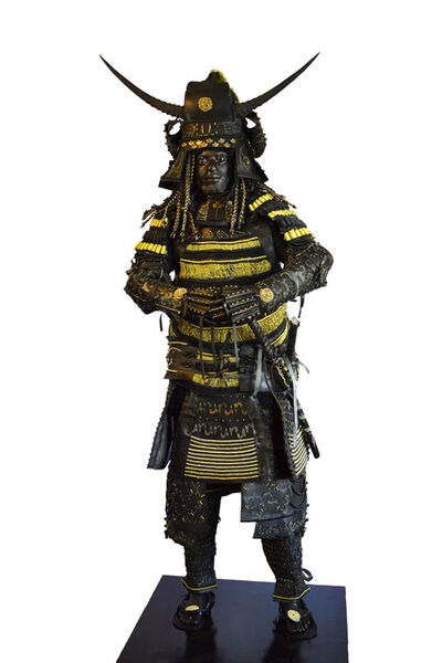 Nicola Roos, 'Obsidian Samurai IV (No Man's Land Series)', 2018