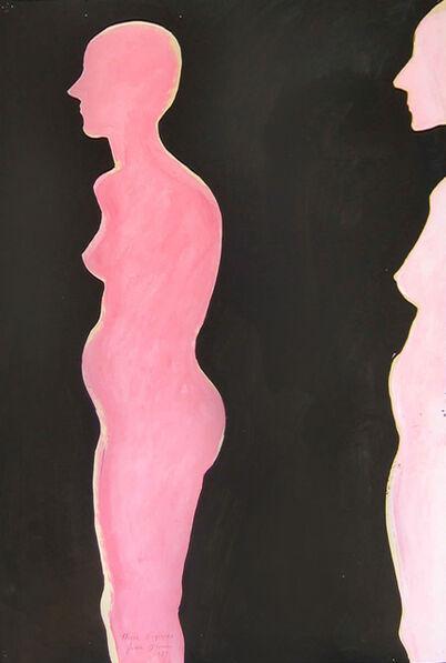 Joan Brown, 'Three Figures', 1974