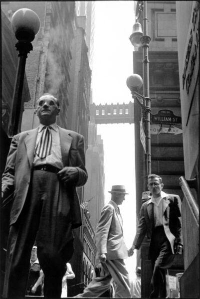 Leonard Freed, 'Wall Street, New York City, USA.', 1956