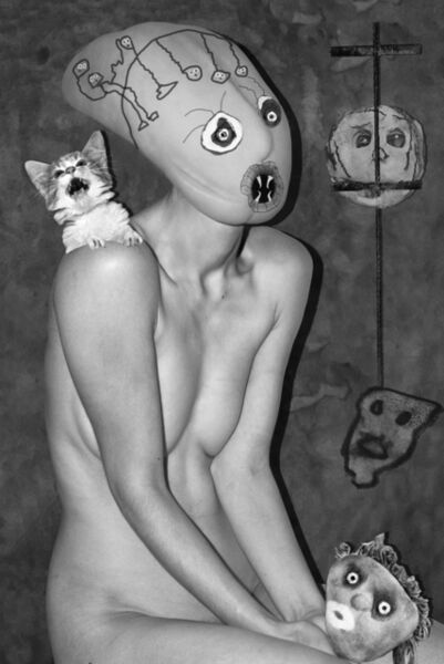 Roger Ballen, 'Scared Cat', 2016