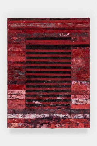 Tim Youd, 'Typewriter Ribbon Painting 3 (Series 3)', 2020