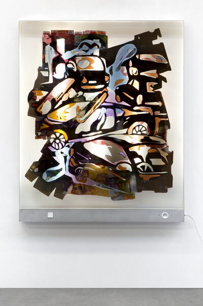 Neïl Beloufa, 'Medium Cars I', 2019
