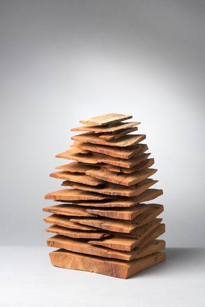 David Nash, 'Small Yew Stack', 2014