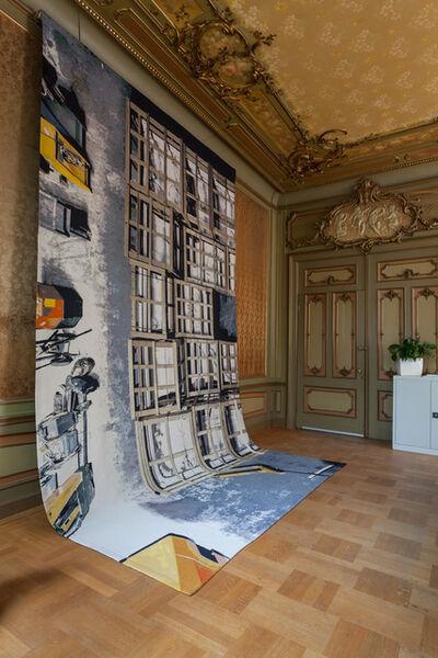 Barbara Visser, 'Moving Rooms, Baroque Ceiling (Copy), Amsterdam Museum Depot', 2013