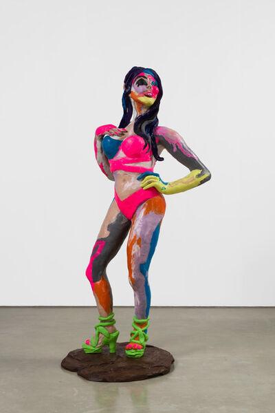Rachel Feinstein, 'Feathers', 2018