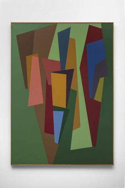 Karl Benjamin, '#3', 1986