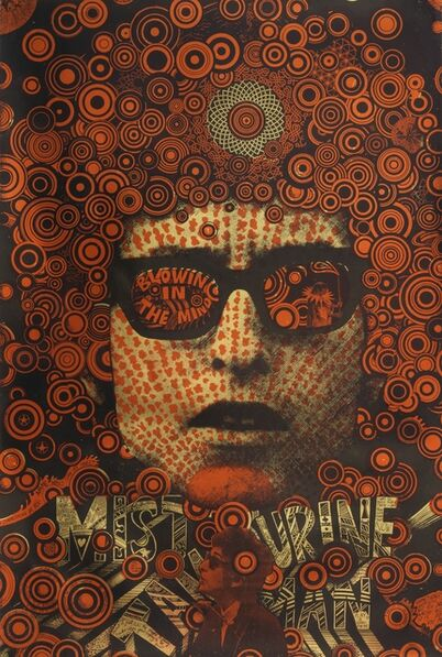 Martin Sharp, 'Blowing in the Mind/Mister Tambourine Man (poster)', 1968