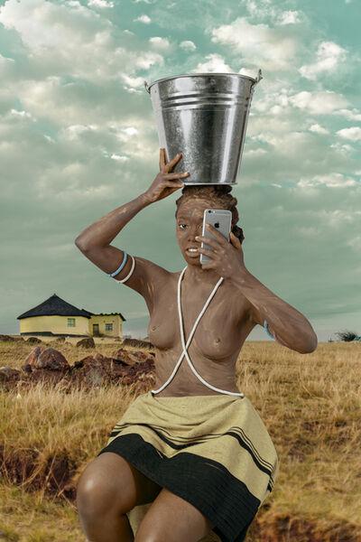 Tony Gum, 'Xhosa woman - Intombi II', 2017