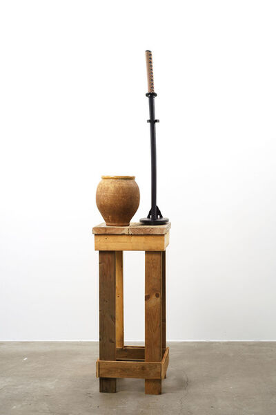 Adel Abdessemed, 'The Vase and the Sword', 2018