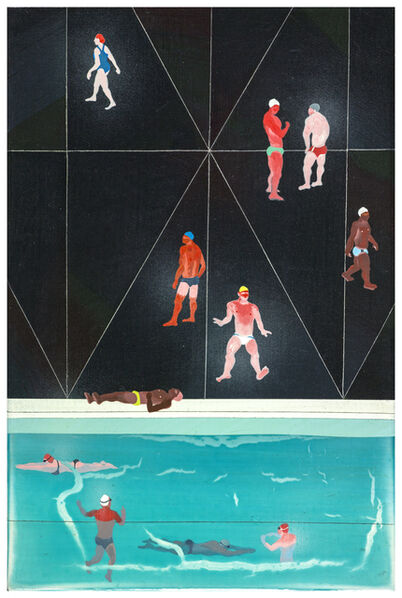 Yang-Tsung Fan, 'Dark Swimming Pool', 2016