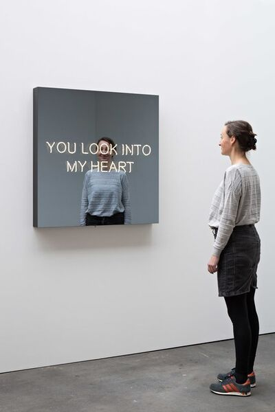 Jeppe Hein, 'YOU LOOK INTO MY HEART', 2017