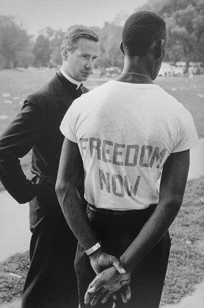 Leonard Freed, 'Freedom Now, Washington, DC, 8/28/63', 1963