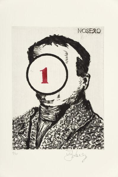 William Kentridge, 'Nose 20', 2009