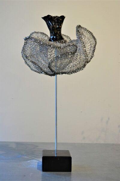 Estella Fransbergen, 'High-fired Torso, crochet skirt', 2019