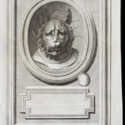 Johann Joachim Winckelmann, 'Head of a lion', 1760