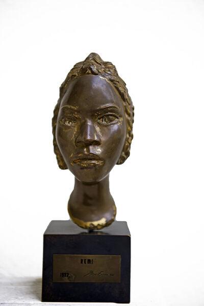 Ben Enwonwu MBE, 'Bust of Remi', 1977