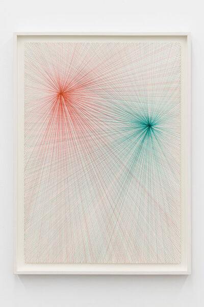 Ignacio Uriarte, 'Two Light Beams (Red and Green)', 2017