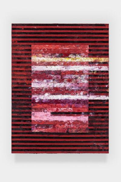 Tim Youd, 'Typewriter Ribbon Painting 4 (Series 3)', 2020