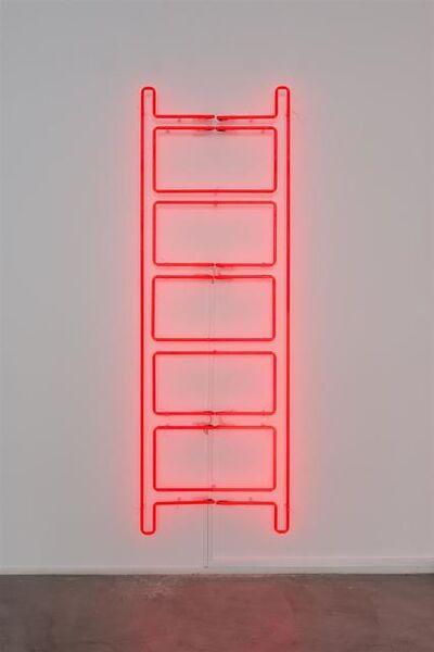 Iván Navarro, 'Emergency Ladder', 2018
