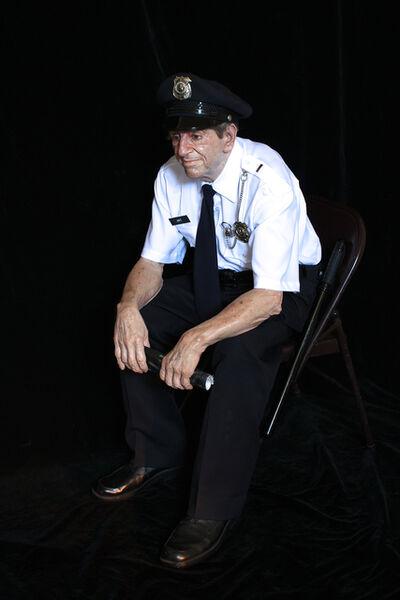 Marc Sijan, 'Seated Guard #2', 2015