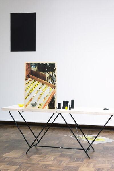 Kathrin Sonntag, 'I see you seeing me see you - Yellow / Black Section', 2014-2017