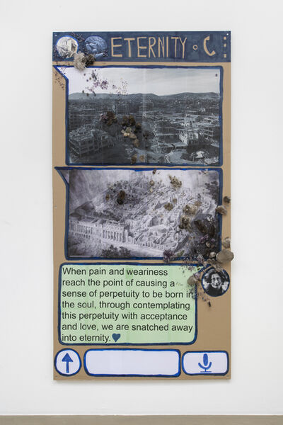 Thomas Hirschhorn, 'Eternity (Chat-Poster)', 2020