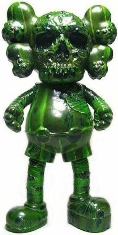 KAWS, 'KAWS X PUSHEAD COMPANION GREEN', 2006, Sculpture, Painted Cast Vinyl, Marcel Katz Art
