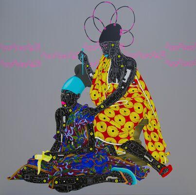 Eddy Kamuanga Ilunga, installation view