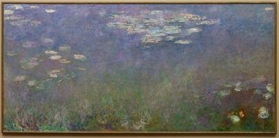 Claude Monet, 'Water Lilies (Agapanthus)', c.1915-1926