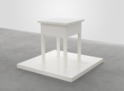 Roy McMakin, 'Untitled (table with base)', 2005