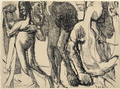 Louis Soutter, 'Entre nus - gâteux tous', 1935