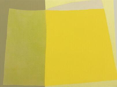 Danny Joe Rose III, 'Landscape in Yellow', 2019