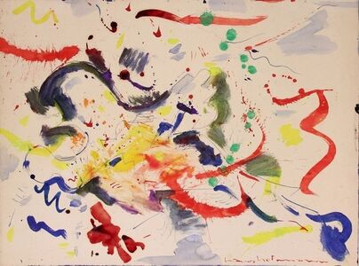 Hans Hofmann, 'Untitled (Red, yellow, green, blue)', 1946