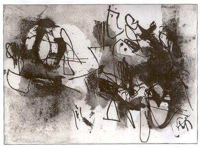 Afro (Afro Basaldella), 'Senza titolo', 1960