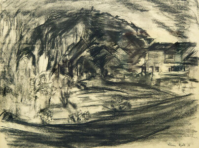Lilian Holt, 'Vezeley, France', 1953