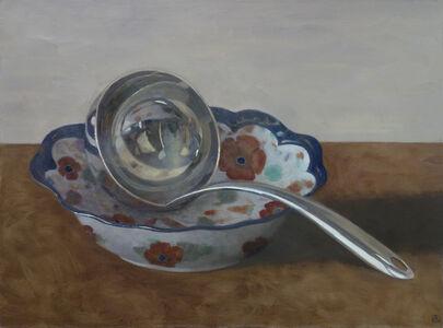 Olga Antonova, 'Ladle in Floral Bowl', 2017
