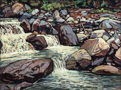 William Duma, 'Rushing Water (40-19)', 2019