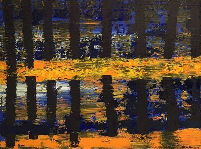 Andrzej Fogtt, 'The Brda River', 2014