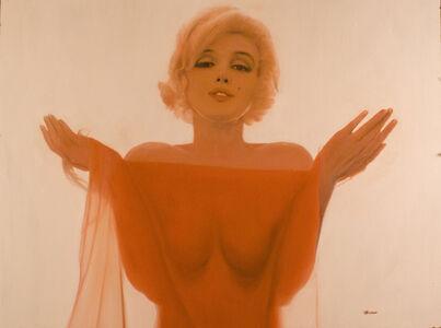 Ron Lesser, 'Marilyn Monroe - Marilyn in Silk Scarf'