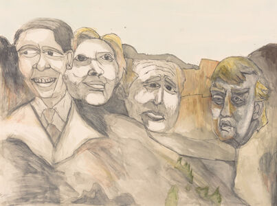 Joseph Green, 'A New Mount Rushmore', 2015