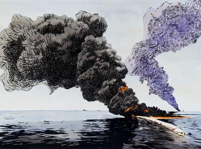 Matthew Hindley, 'Black gold', 2017