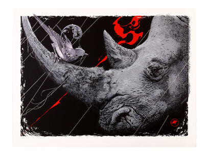 Aaron Horkey, 'Only Death Is Real', 2012