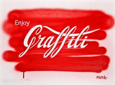 Ernest Zacharevic, 'Enjoy Graffiti Hand Sprayed', 2014