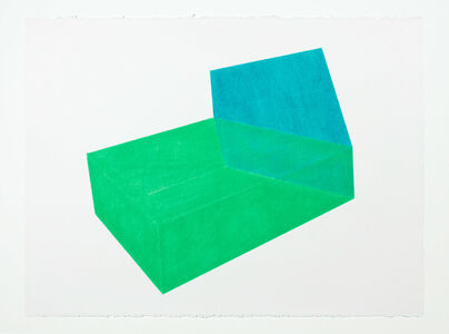 Brant Ritter, 'Accidental Happiness, Green + Green', 2017