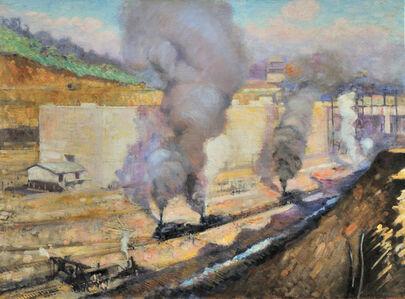 Alson Skinner Clark, 'In the Lock, Miraflores', 1913
