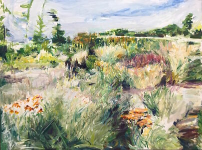 Fran Lightman Gibson, 'Afternoon at Cambo'