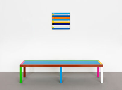 Liam Gillick, 'Untitled (Designated Test Bench + Knight White Test Rig)', 2011