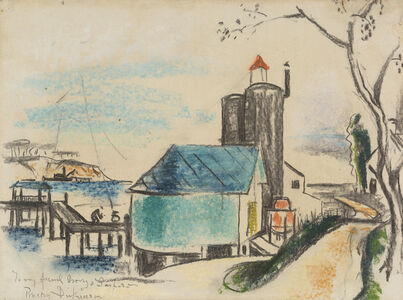 Preston Dickinson, 'Long Island', ca. 1929-1930